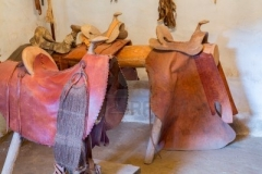17931225-hand-crafted-leather-saddles-in-la-purisima-mission-california