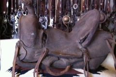 early Visalia saddle by Walker