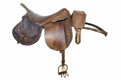 Gen Beauregard's 1864 imported French saddle