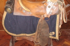 J B Hoods Texas saddle