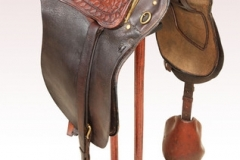 R E Lee's saddle